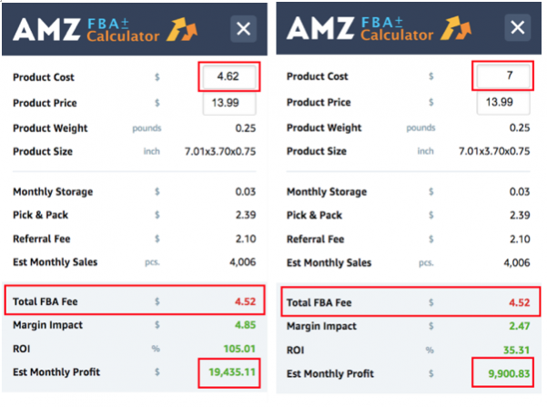 amz fba calculator
